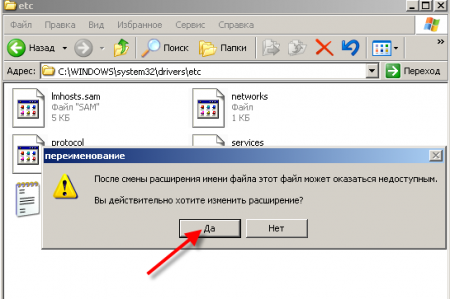 Файл hosts (../WINDOWS/system32 /drivers/etc/hosts)