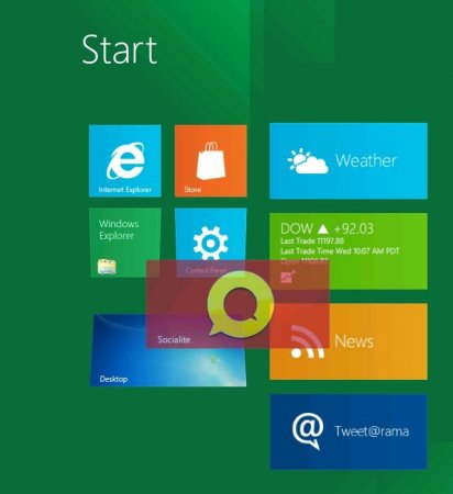 Встречайте, Windows 8 – the Developer Preview